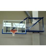 Конзолна баскетболна конструкция - сгъваема