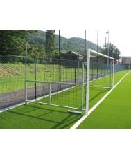 Врата за футбол - 5.00 x 2.00 м. - сгъваема