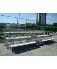 Олекотена модулна трибуна - 34 места