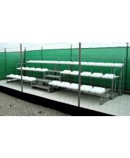 Олекотена модулна трибуна - 39 места