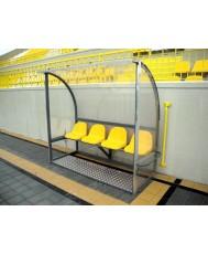 Делегатска скамейка - 4 места