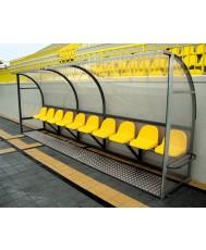 Скамейка за резервни играчи - 10 места
