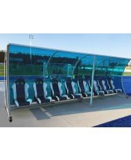 VIP делегатска скамейка - 8 места