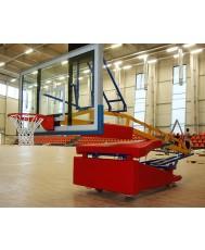 Мобилна баскетболна конструкция за зала PBS01