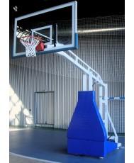 Мобилна баскетболна конструкция за зала PBS02