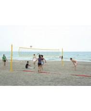 Опъвателни стълбове за плажен волейбол