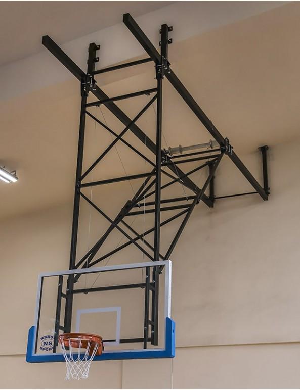 Баскетболна конструкция таванен монтаж