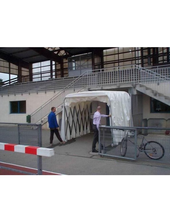 телескопичен тунел спортни съоражения