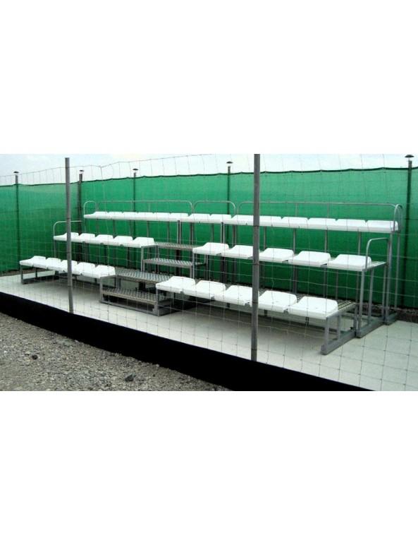 Олекотена модулна трибуна 39 места