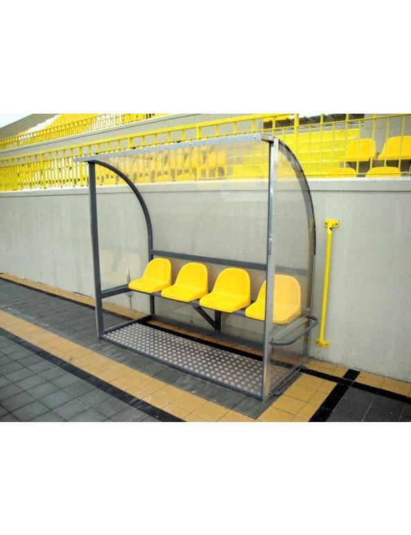 Делегатска скамейка 4 места