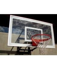 Polycarbonate Basketball Backboard in Steel Frame