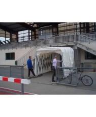 Телескопичен тунел за спортни съоражения